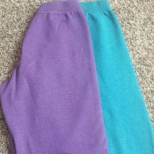 Two pair women's sweatpants